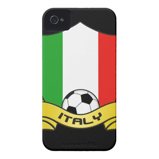 Italy Soccer iPhone 4/4S Case-Mate Barely There