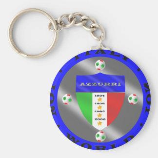 Italy Soccer Key Chain