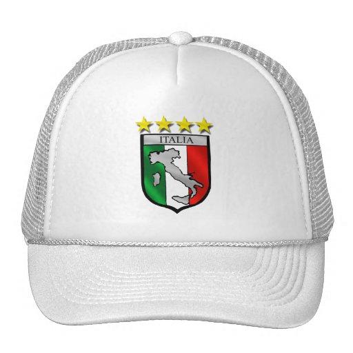 Italy Soccer Mesh Hat