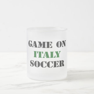 Italy Soccer Coffee Mugs