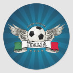 Italy Soccer National Team Supporter stickers