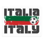 Italy Soccer Postcard