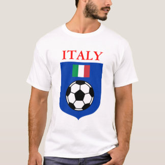 Italy Soccer Shield T-Shirt