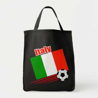 Italy Soccer Team Tote Bags