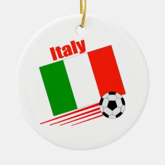 Italy Soccer Team Ceramic Ornament