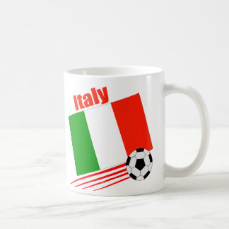 Italy Soccer Team Coffee Mug