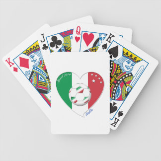 "Italy Soccer Team. Fútbol de ""ITALIA"" 2014 Baraja Cartas De Poker"