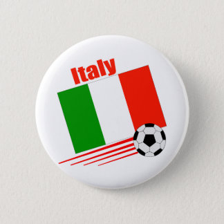 Italy Soccer Team Pinback Button