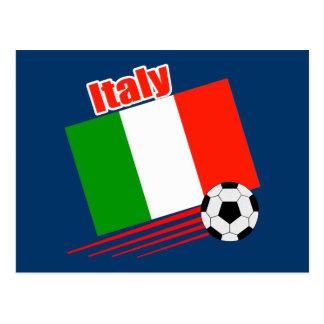 Italy Soccer Team Postcard