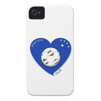 """Italy Soccer Team. Soccer of """"ITALY"""" 2014 iPhone 4 Case"""