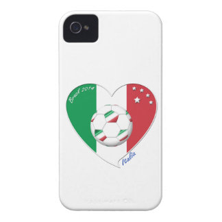 """Italy Soccer Team. Soccer of """"ITALY"""" 2014 iPhone 4 Cover"""