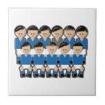 Italy soccer team teja cerámica