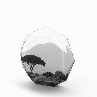 Italy Souvenir from Mount Vesuvius Volcano Acrylic Award