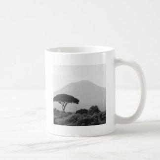 Italy Souvenir from Mount Vesuvius Volcano Coffee Mug