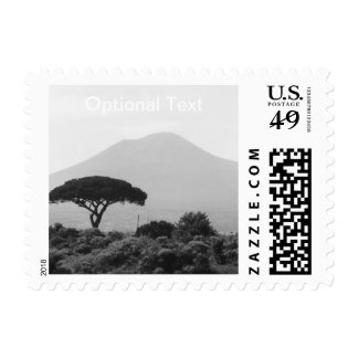 Italy Souvenir from Mount Vesuvius Volcano Stamps