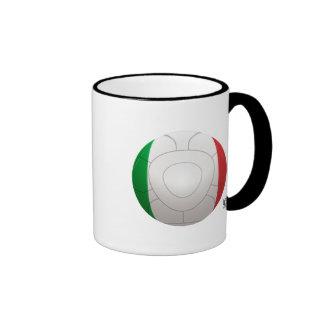 Italy - Squadra Azzurra Football Ringer Mug