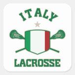 Italy Square Sticker