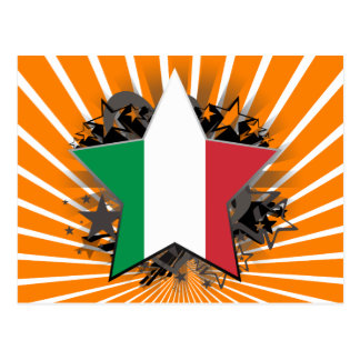 Italy Star Postcard