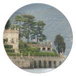 Italy, Stresa, Lake Maggiore, Isola Bella 2 Dinner Plates