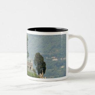 Italy, Stresa, Lake Maggiore, Isola Bella 2 Two-Tone Coffee Mug