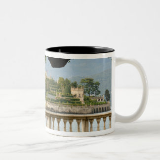Italy, Stresa, Lake Maggiore, Isola Bella Two-Tone Coffee Mug