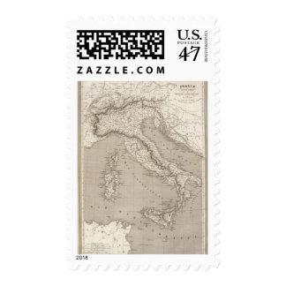 Italy, Switzerland and Tyrol Austrian provinces Postage