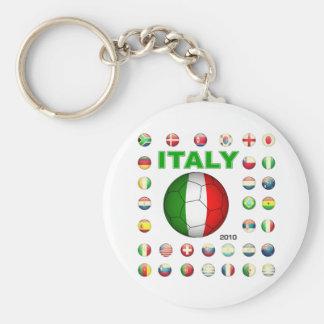 Italy  T-Shirt Keychain