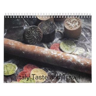 Italy Taste and Travel 2009 Calendar