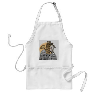 Italy, The Great Beauty Adult Apron