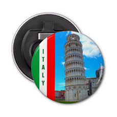 Italy - The Leaning Tower of Pisa Bottle Opener