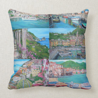 Italy- Throw Pillow Pillow