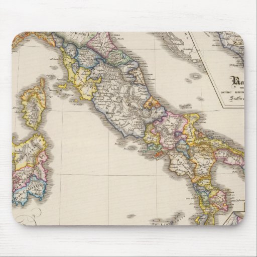 Italy to his ecclesiastical division mouse pad