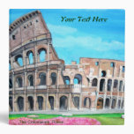 Italy Travels Binder