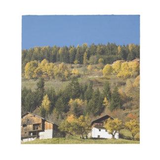 Italy, Trentino - Alto Adige, Bolzano province, 4 Notepad