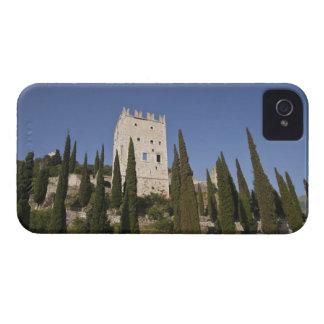 Italy, Trento Province, Arco. Castello di Arco. iPhone 4 Case-Mate Case