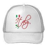 Italy Trucker Hats
