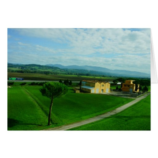 Italy - Tuscan Countryside Card