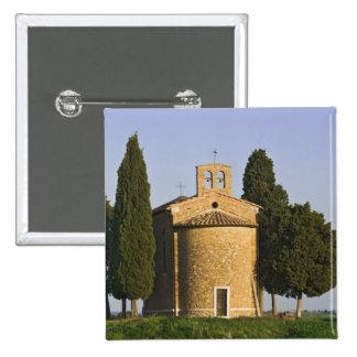Italy, Tuscany. Close-up of Chapel of Vitaleta Pin