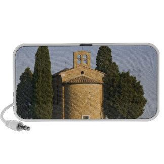 Italy, Tuscany. Close-up of Chapel of Vitaleta Portable Speaker