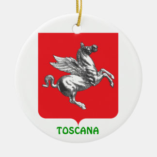 Italy - Tuscany Custom Christmas Ornament