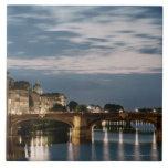 Italy,Tuscany,Florence 2 Large Square Tile