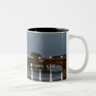 Italy,Tuscany,Florence 2 Two-Tone Coffee Mug