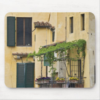 Italy, Tuscany, Florence. Balcony and Mouse Pad