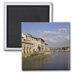 Italy, Tuscany, Florence. Daytime view of the Fridge Magnets