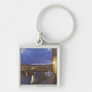 Italy, Tuscany, Florence. Ponte Vecchio Keychain