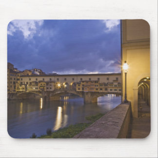 Italy, Tuscany, Florence. Ponte Vecchio Mouse Pad