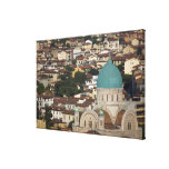 Italy, Tuscany, Florence, Tempio Maggiore Gallery Wrap Canvas