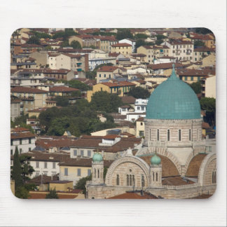 Italy, Tuscany, Florence, Tempio Maggiore Mouse Pad