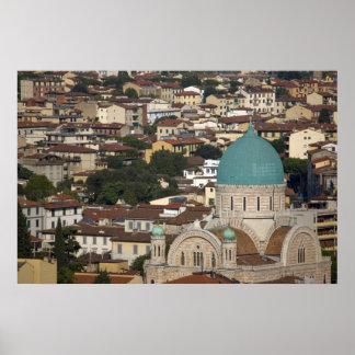 Italy, Tuscany, Florence, Tempio Maggiore Poster