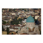 Italy, Tuscany, Florence, Tempio Maggiore Poster